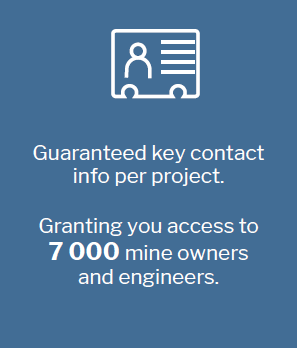 AMIQ grants you key contact info needed for targeting mining in South Africa