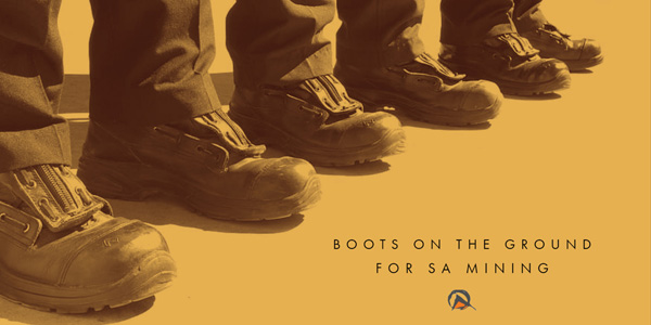 Boots on the ground for SA mining